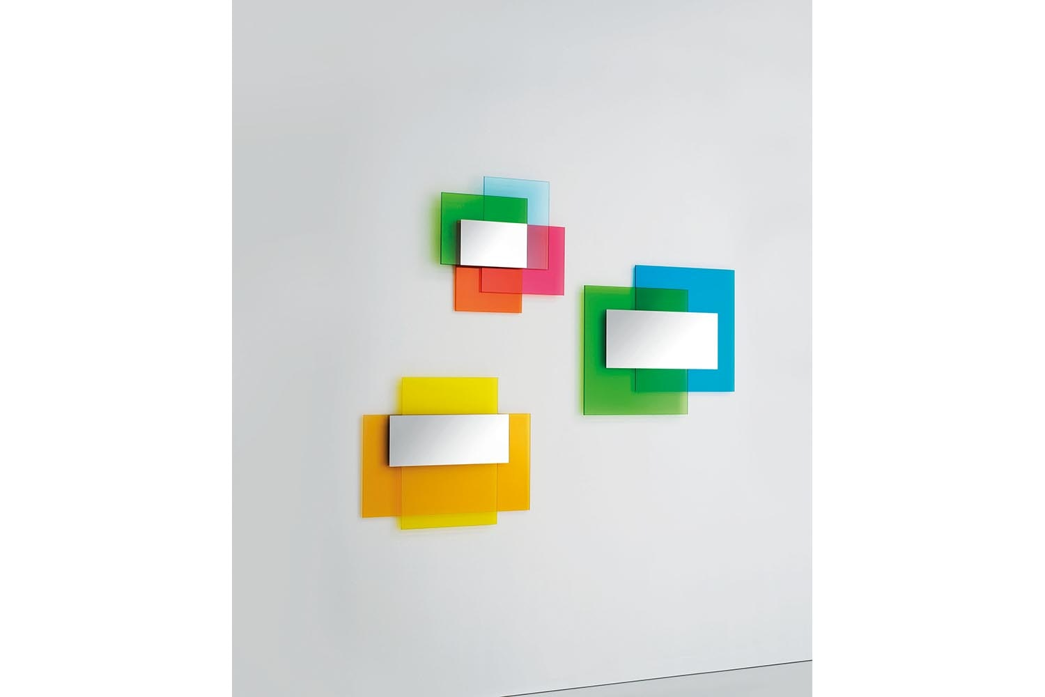 Colour on Colour Mirror by Johanna Grawunder for Glas Italia