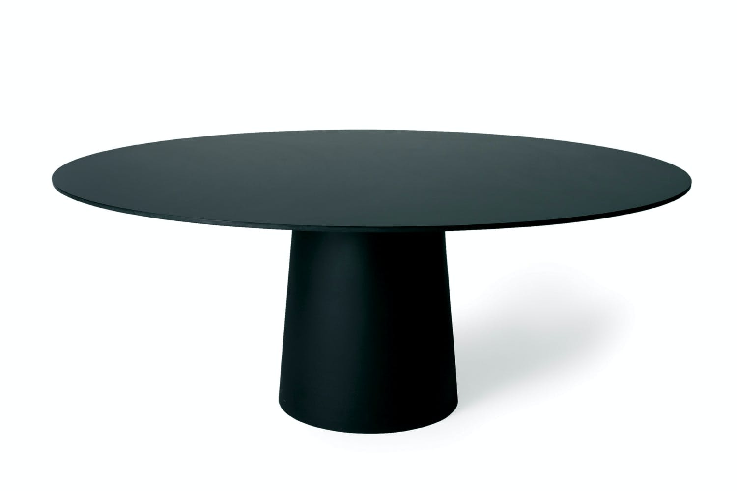 Container table hpl round 160cm by marcel wanders for for Round dining tables melbourne