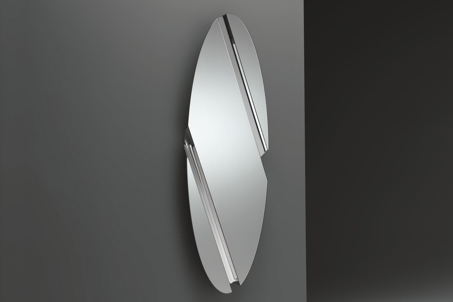 The Wing Elliptical Hanging Mirror