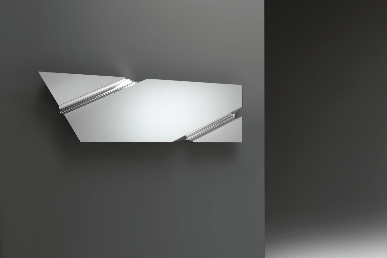 The Wing Rectangular Hanging Mirror with Corner