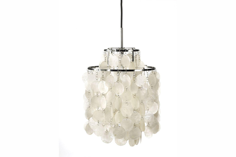 Fun Small Pendant Lamp by Verner Panton for Verpan