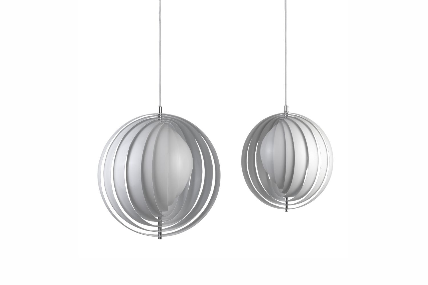 Moon Small Suspension Lamp by Verner Panton for Verpan