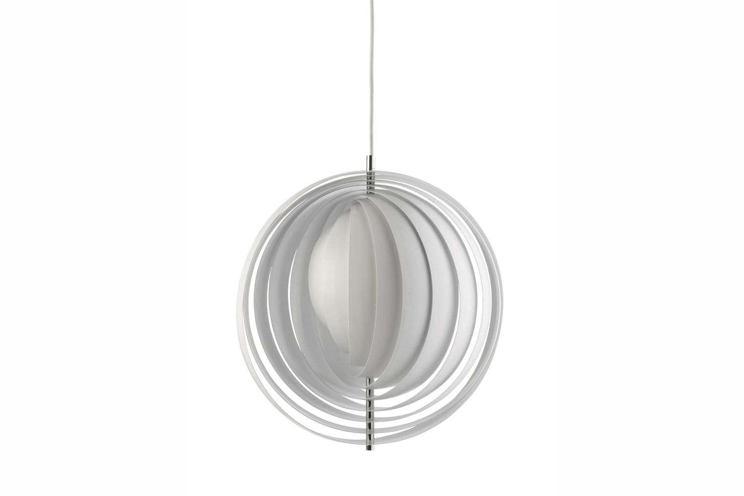 Moon Large Suspension Lamp by Verner Panton for Verpan