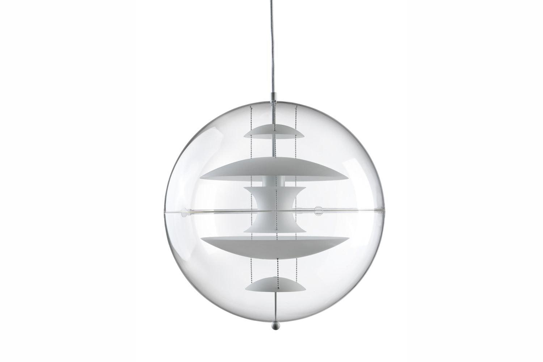 VP Globe Glass Small Pendant Lamp by Verner Panton for Verpan