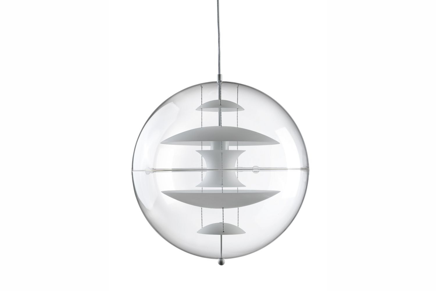 VP Globe Glass Large Pendant Lamp by Verner Panton for Verpan