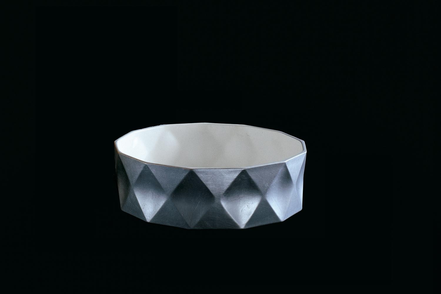 Joker Bowl in Gold or Silver by Nicole Aebischer for B&B Italia