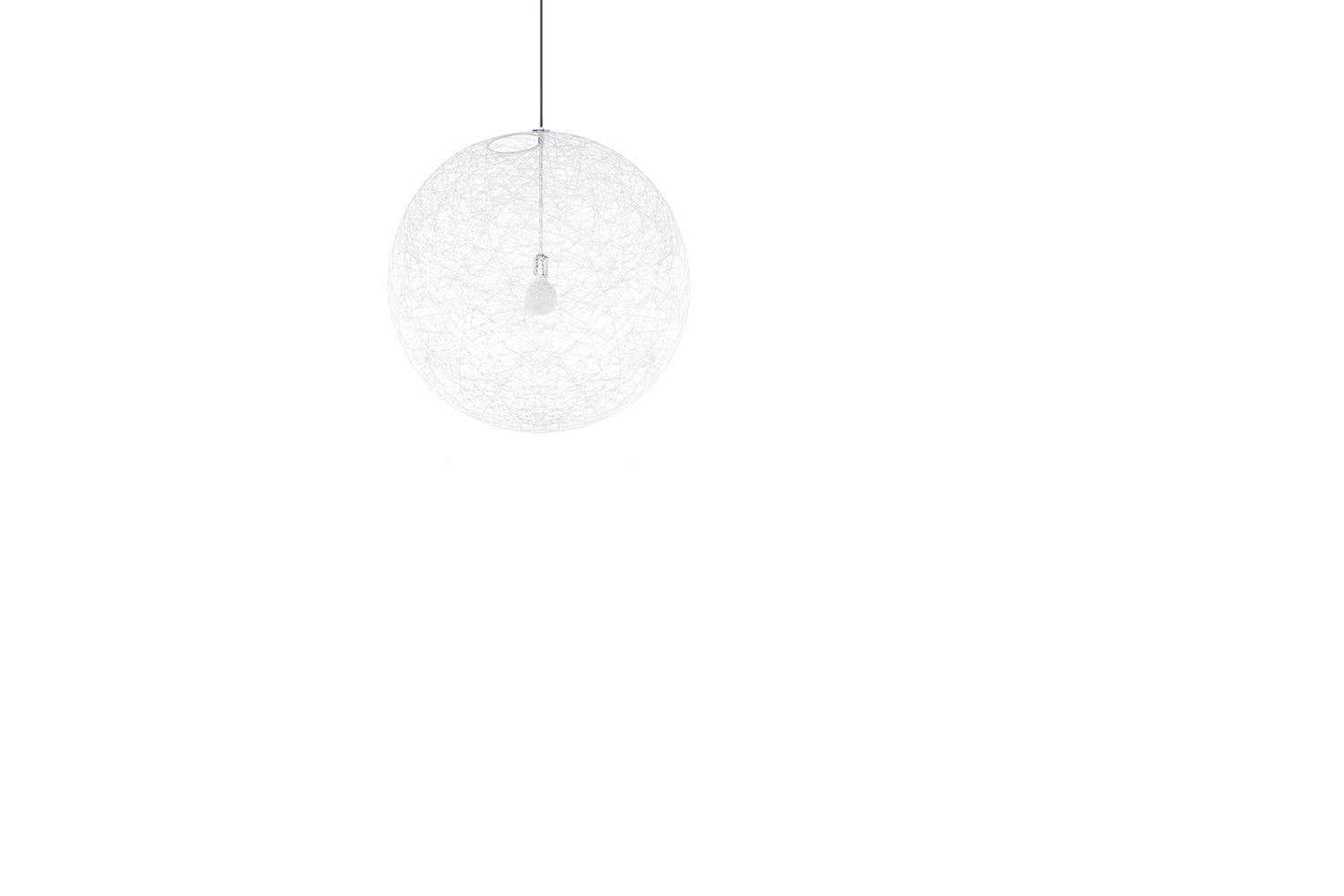 Random Light Medium White Suspension Lamp by Bertjan Pot for Moooi