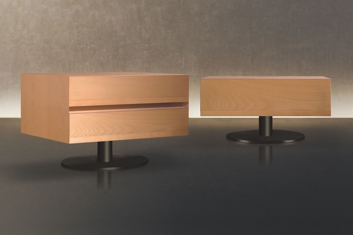 Norma Bedside Table by Massimo Scolari for Giorgetti
