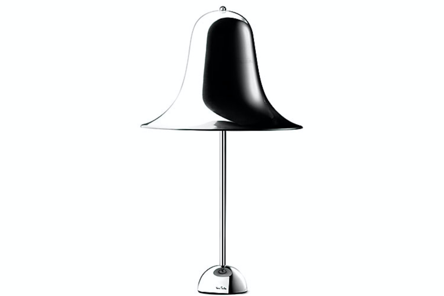 Pantop Table Lamp in Chrome by Verner Panton for Verpan