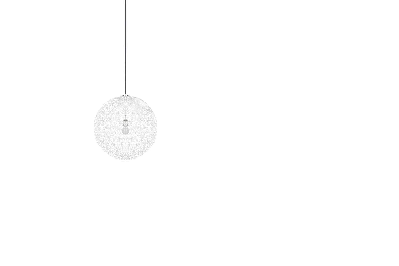 Random Light Small White Suspension Lamp by Bertjan Pot for Moooi