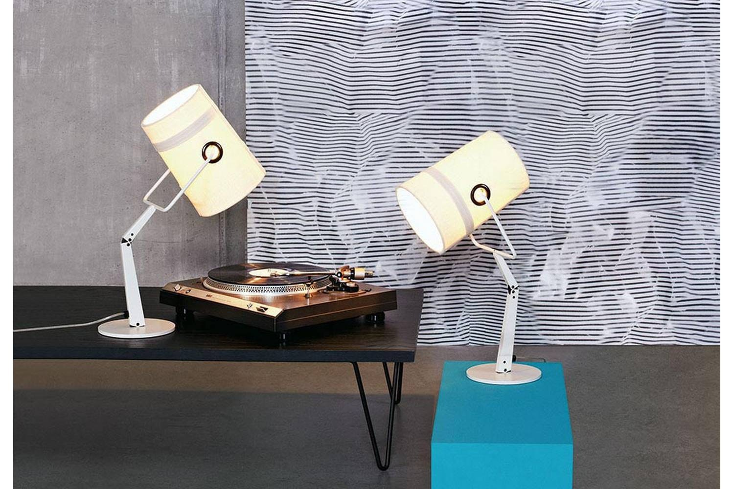 Fork Table Lamp Ivory by Successful Living from DIESEL for Foscarini