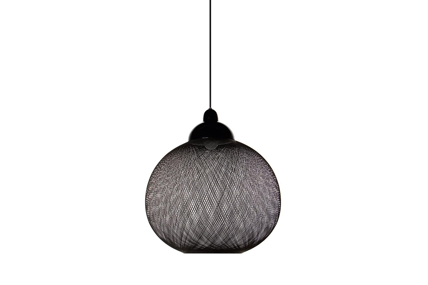 Non Random Small Black Suspension Lamp by Bertjan Pot for Moooi