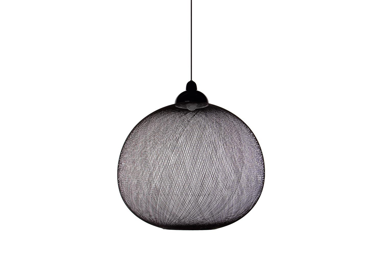 Non Random Large Black Suspension Lamp by Bertjan Pot for Moooi