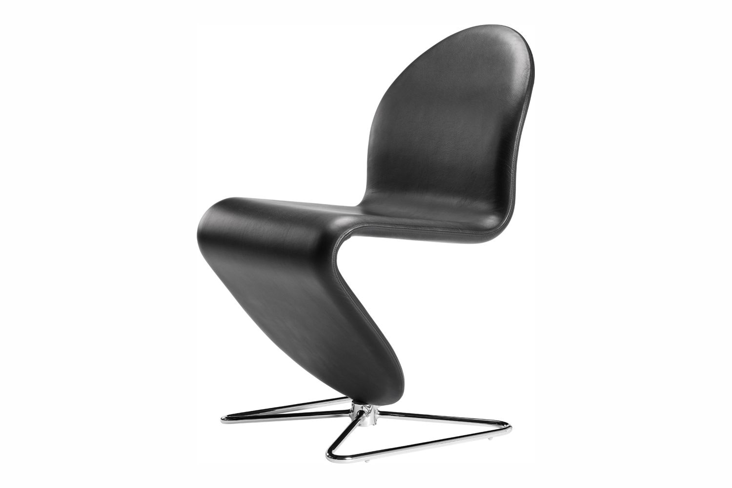 System 1-2-3 Butterfly Dining Chair Standard by Verner Panton for Verpan