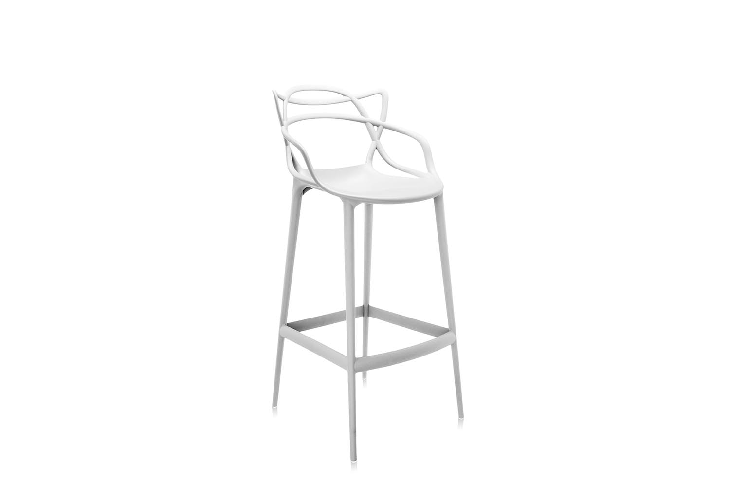 Masters High Stool by Philippe Starck with Eugeni Quitllet for Kartell