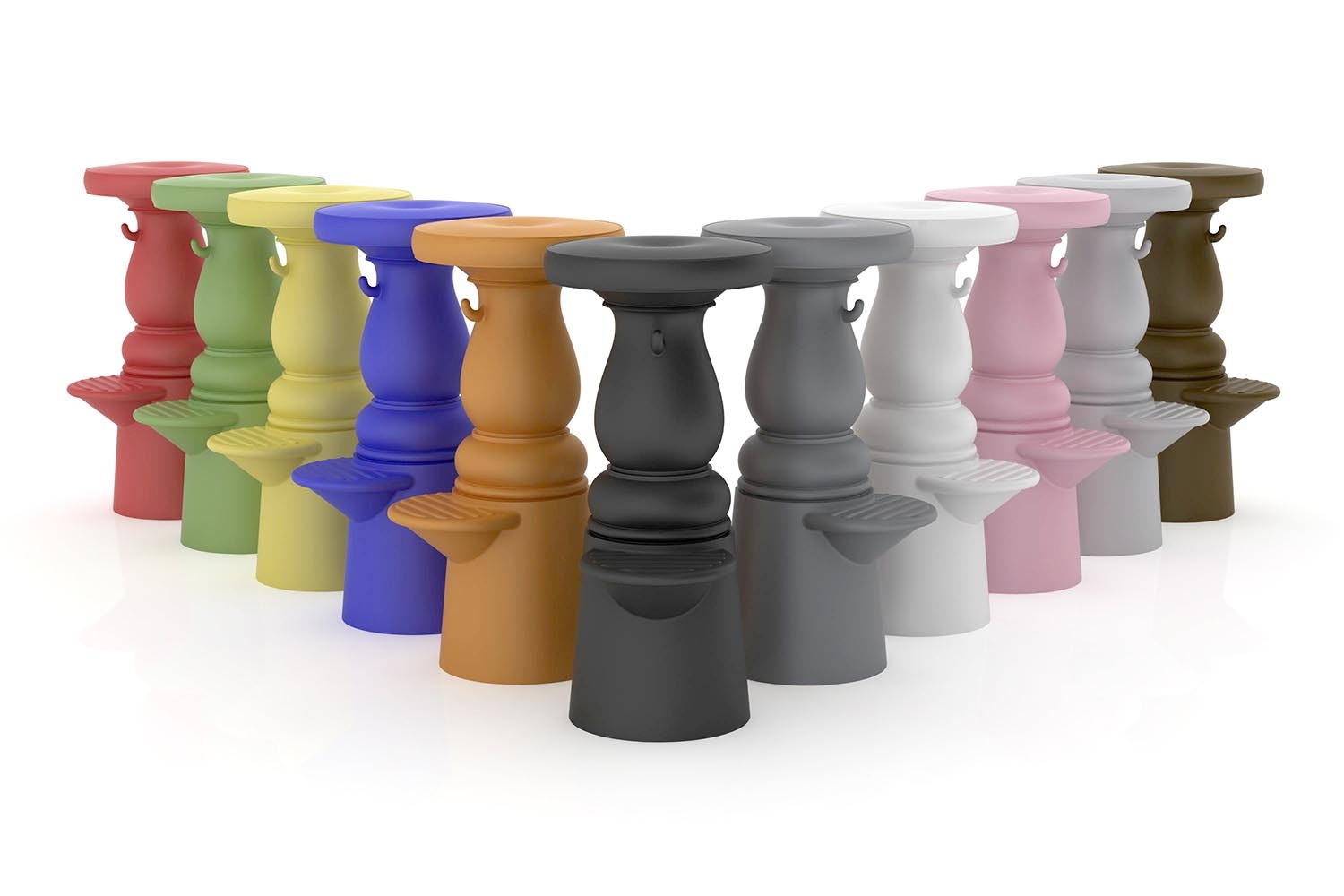 New Antiques Barstool by Marcel Wanders for Moooi