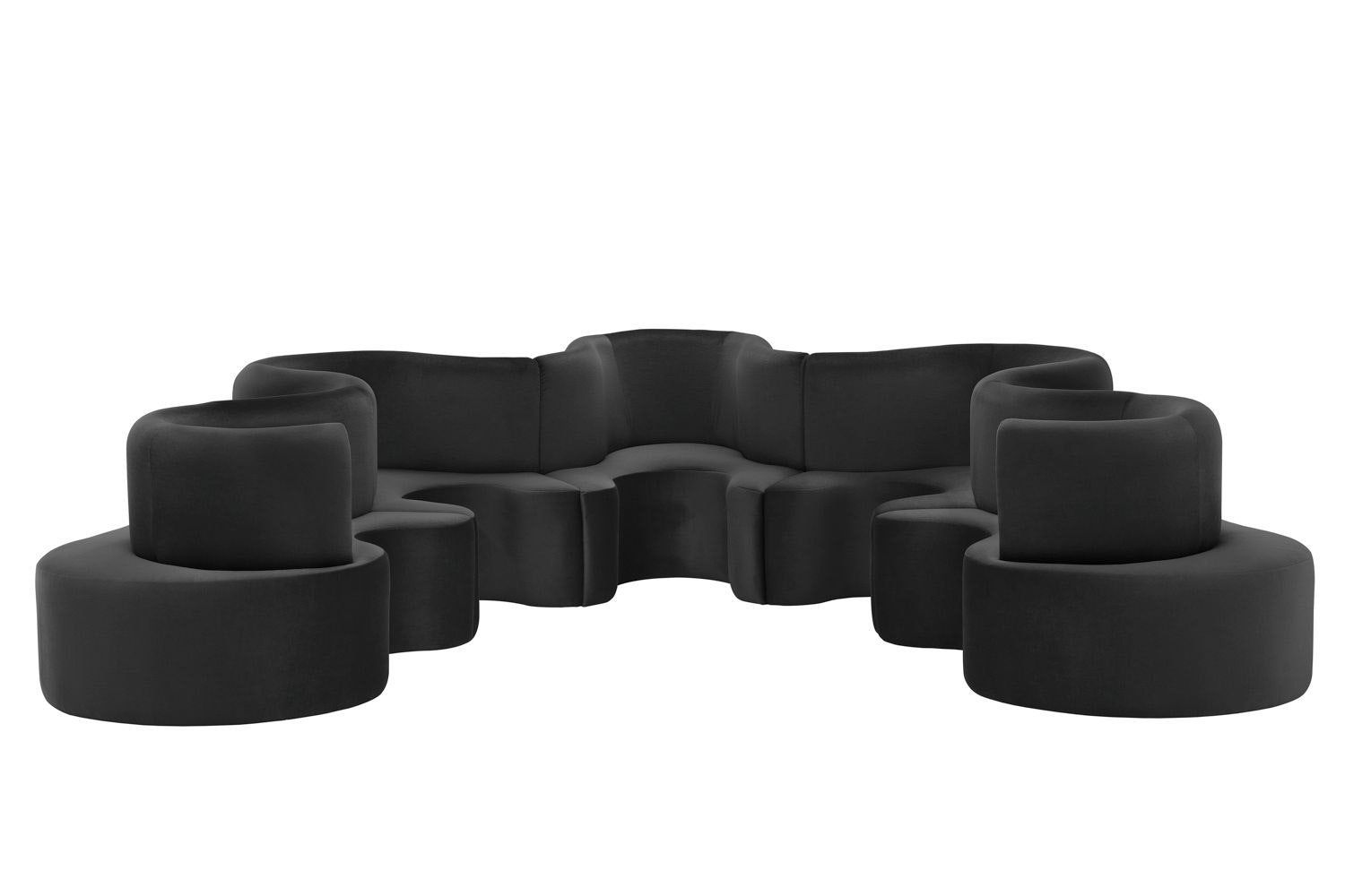 Cloverleaf Sofa - 5 Units by Verner Panton for Verpan