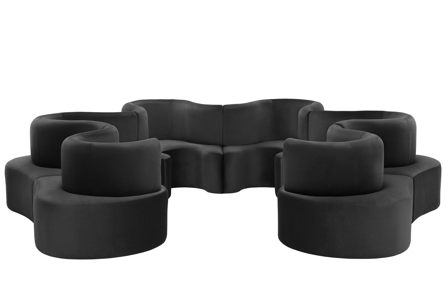 Cloverleaf Sofa - 6 Units by Verner Panton for Verpan
