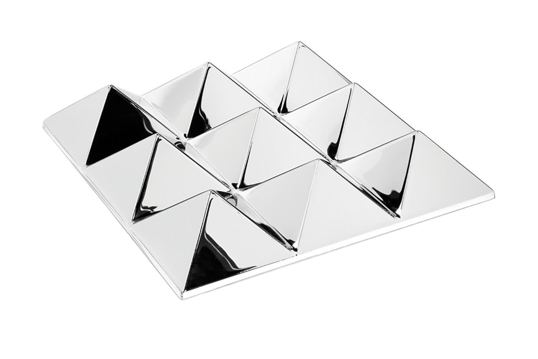 Mirror Sculptures - 9 Pyramids by Verner Panton for Verpan