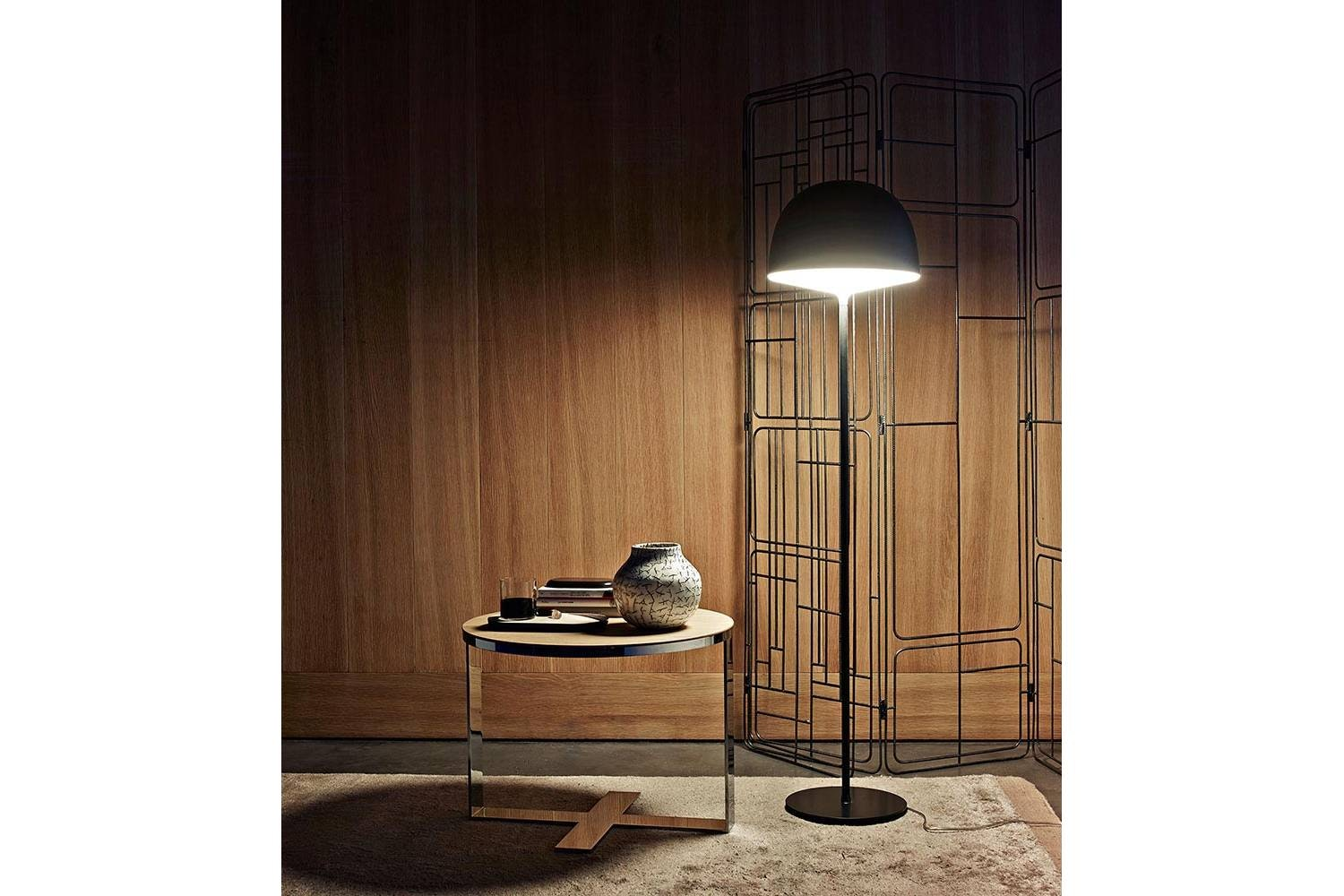 Eileen Side Table in Brushed Light Oak by Antonio Citterio for B&B Italia