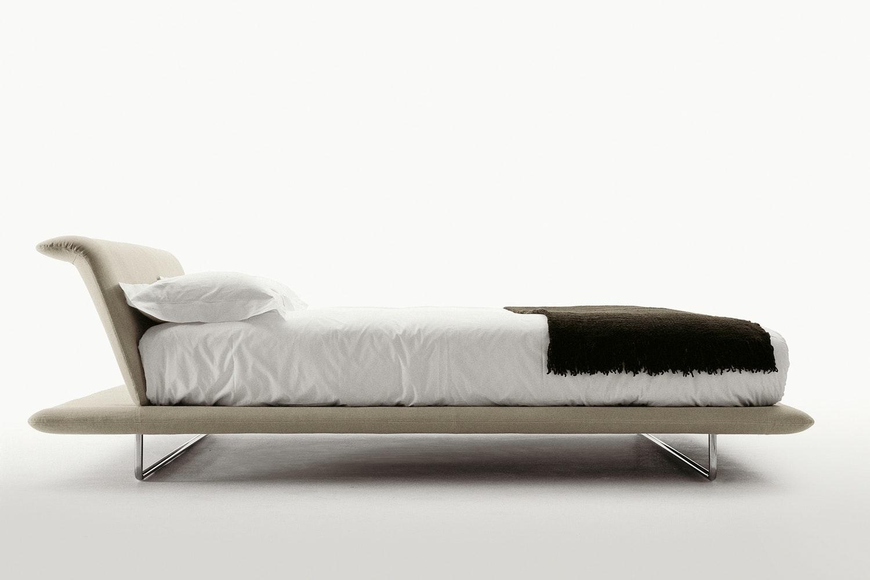Siena King Bed in Fabric by Naoto Fukasawa for B&B Italia