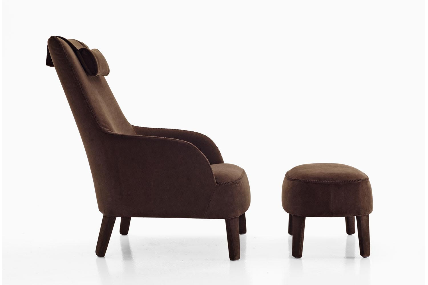 Febo 2013 Armchair by Antonio Citterio for Maxalto