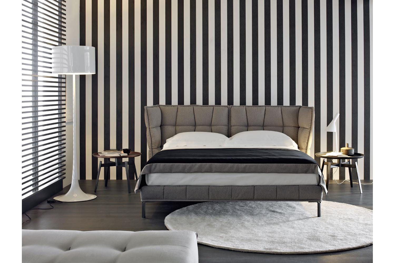 husk bed by patricia urquiola for b b italia space furniture. Black Bedroom Furniture Sets. Home Design Ideas