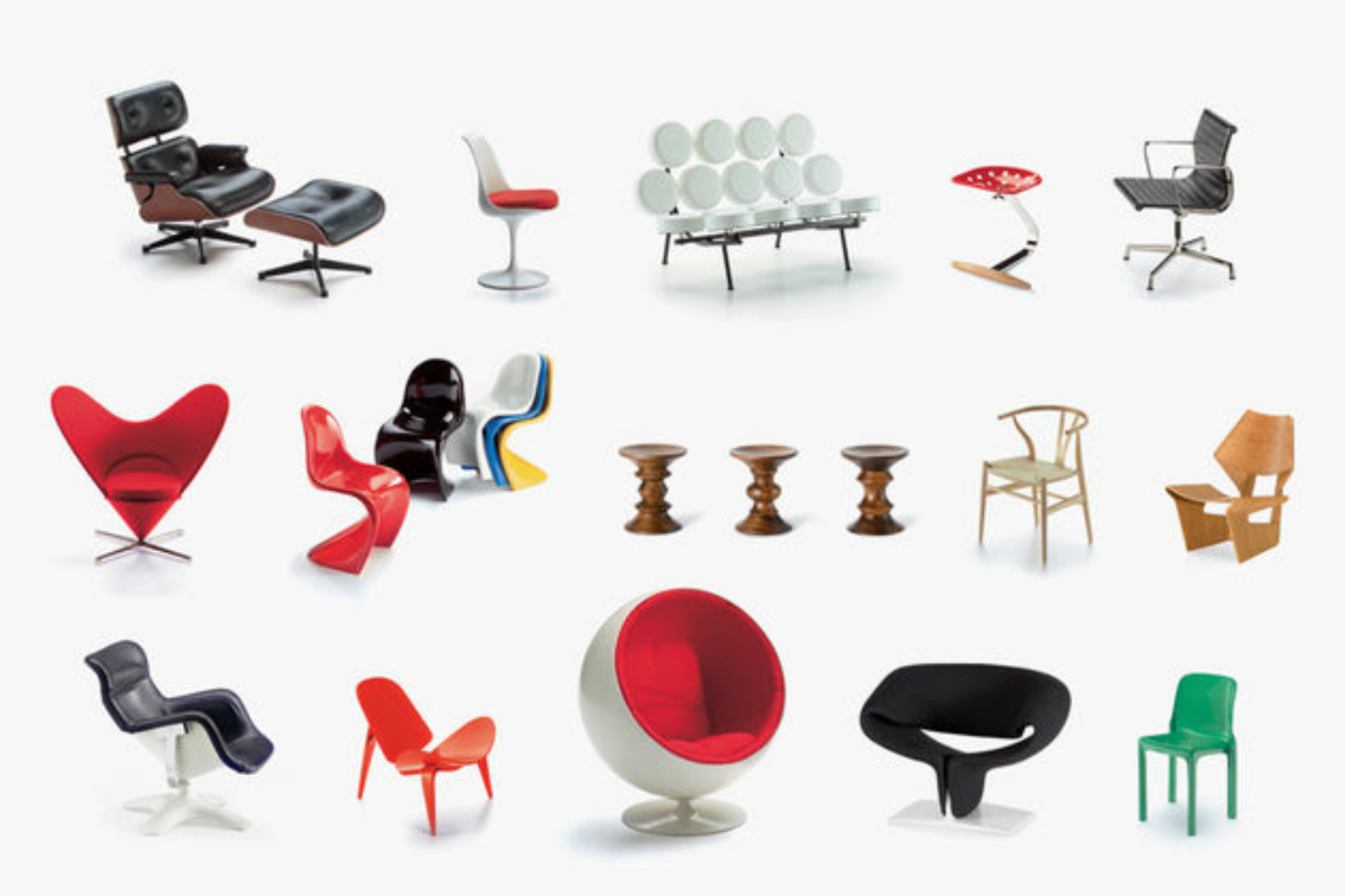 Miniatures Collection 2 by Vitra Design Museum for Vitra Space