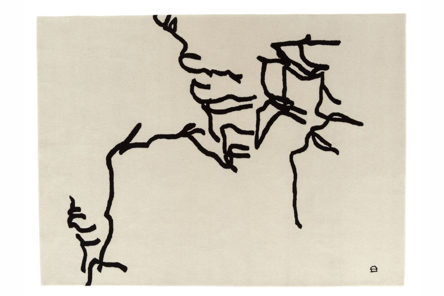 Dibujo Tinta 1957 by Eduardo Chillida for Nanimarquina