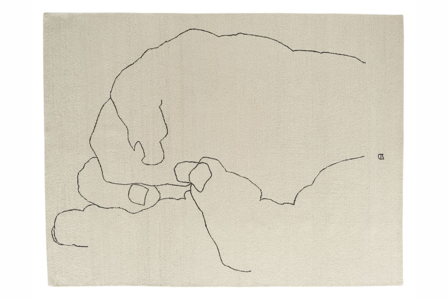 Mano 1993 by Eduardo Chillida for Nanimarquina