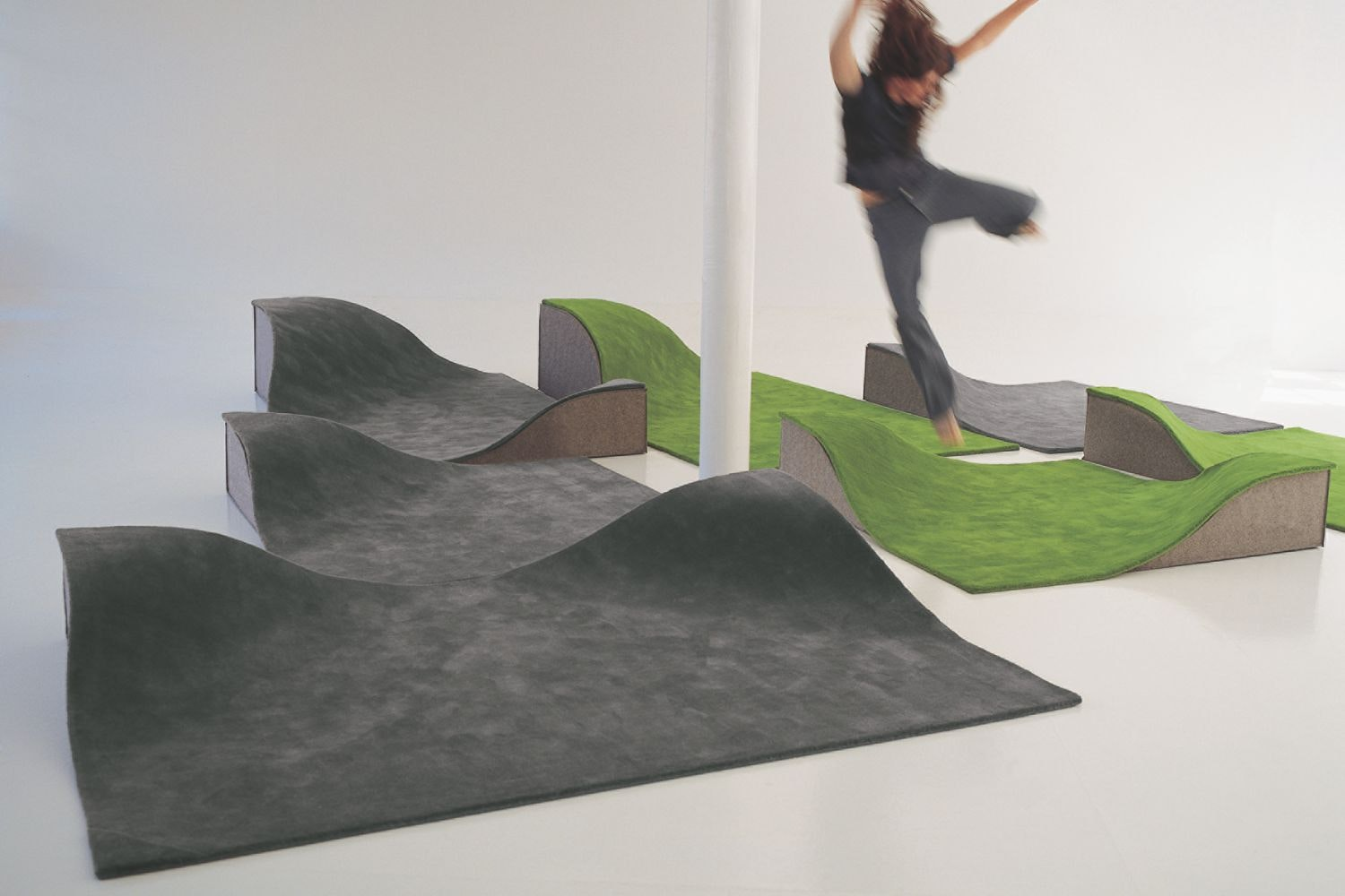 Flying Carpet by Ana Mir + Emili Padros for Nanimarquina