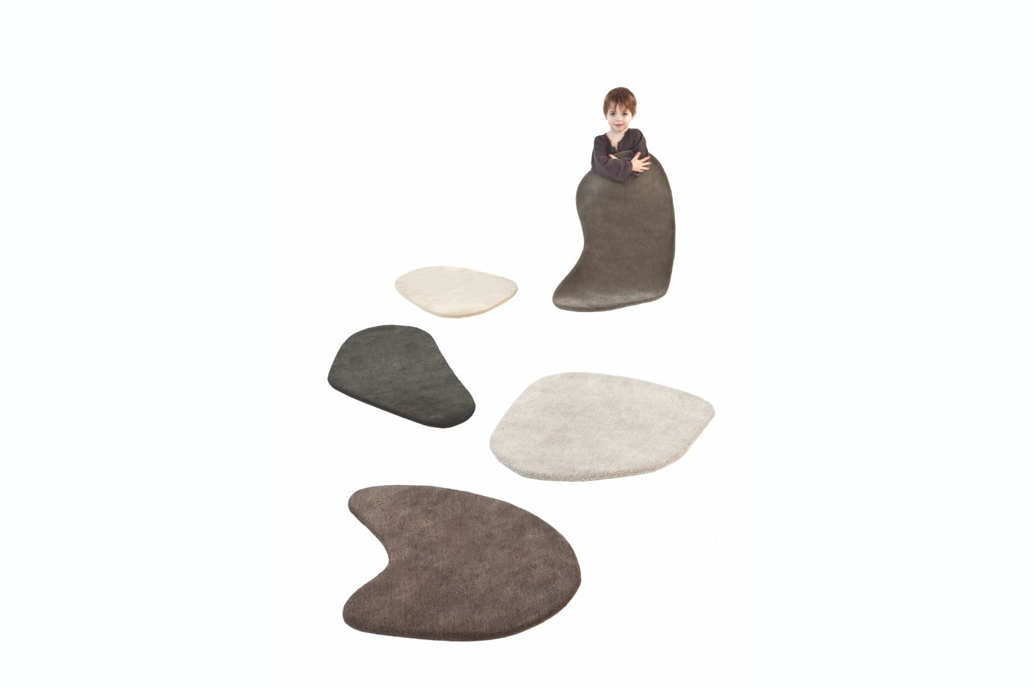 Stone-Wool Little Stones by Diego Fortunato for Nanimarquina