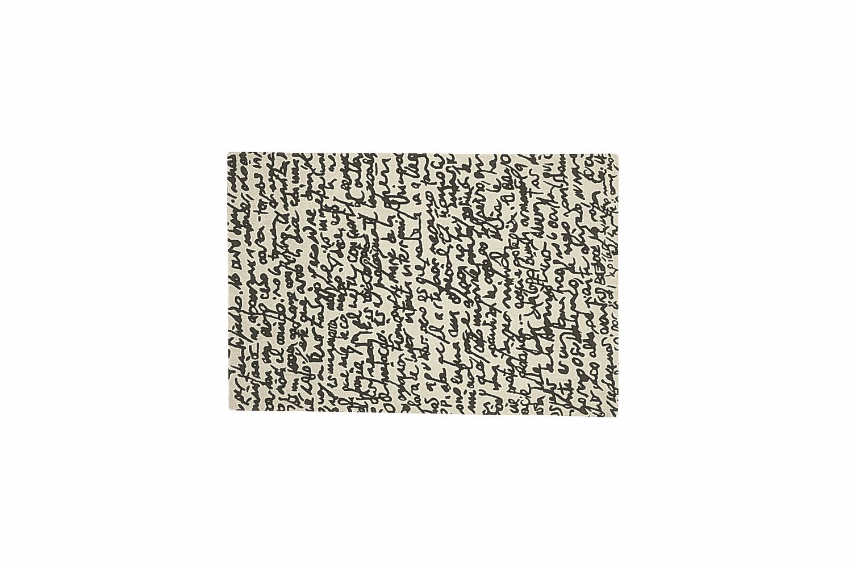Black on White Manuscrit by Javier Mariscal + Joaquim Ruiz Millet + Xano Armenter for Nanimarquina