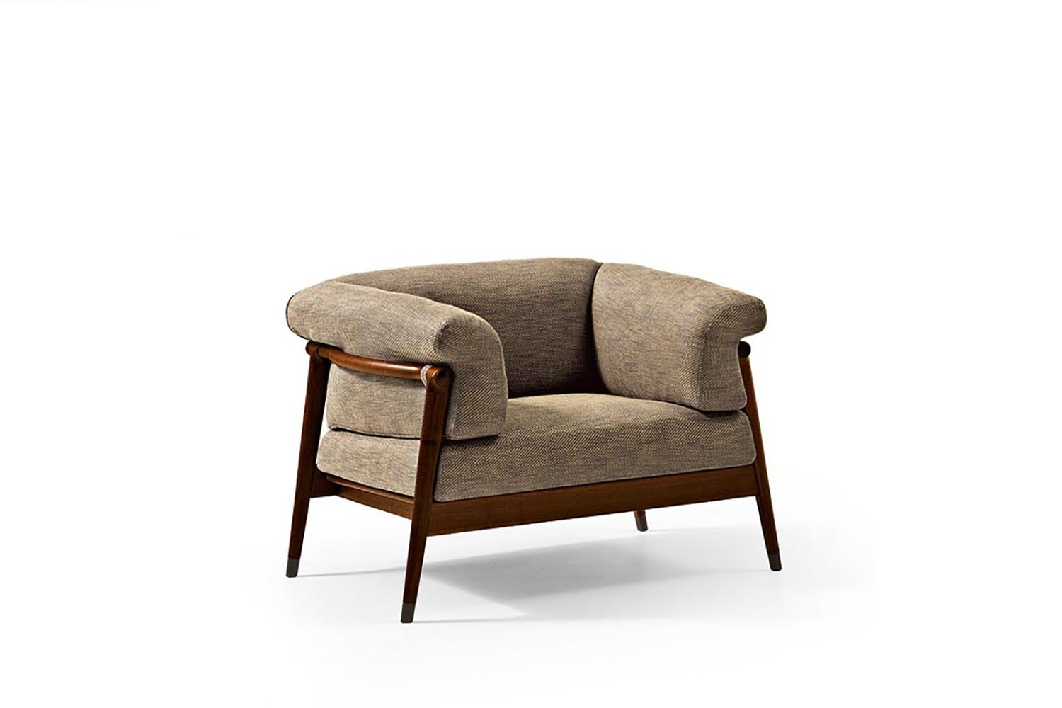 Derby Armchair by Laura Silvestrini for Giorgetti