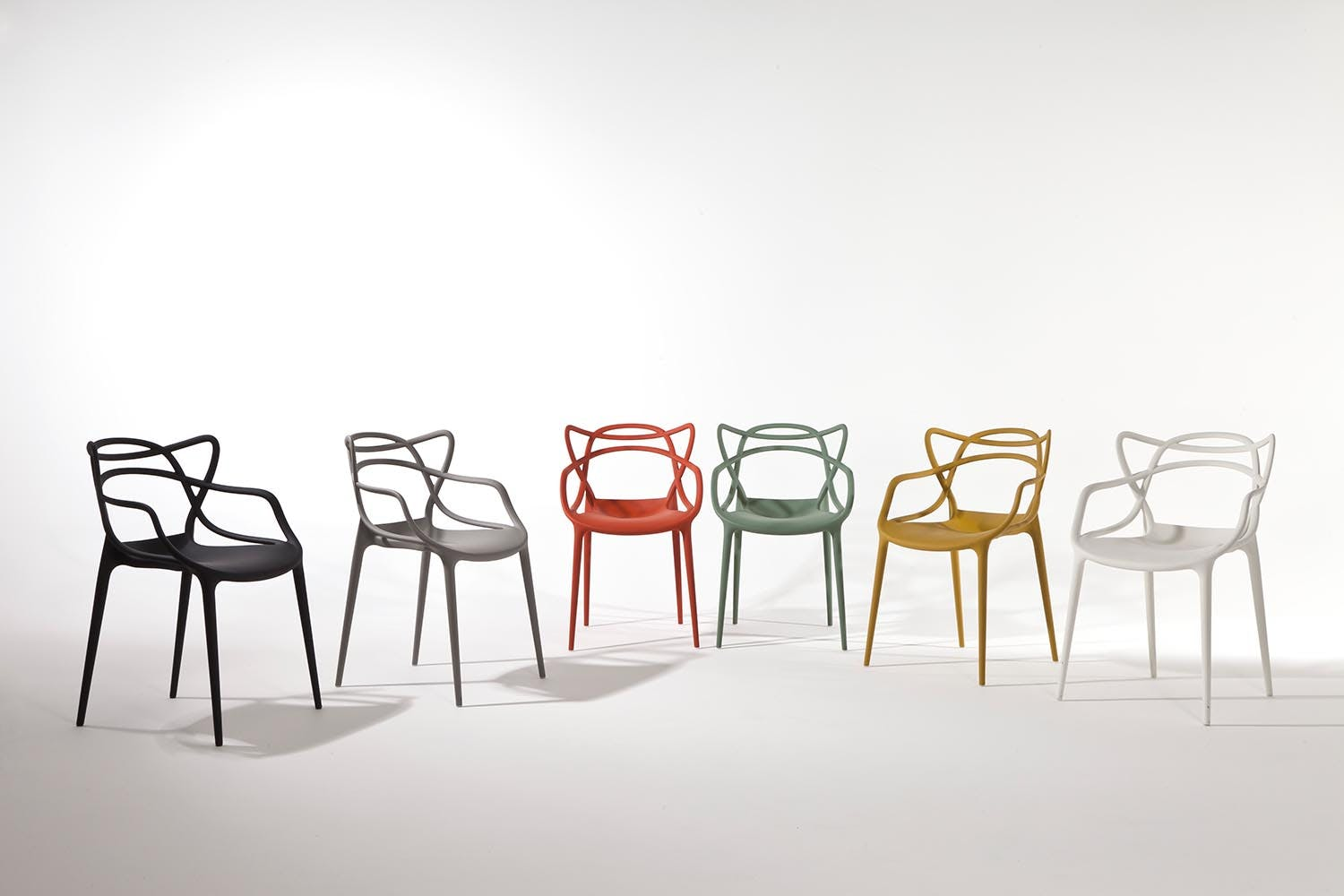Masters Chair With Arms By Philippe Starck With Eugeni