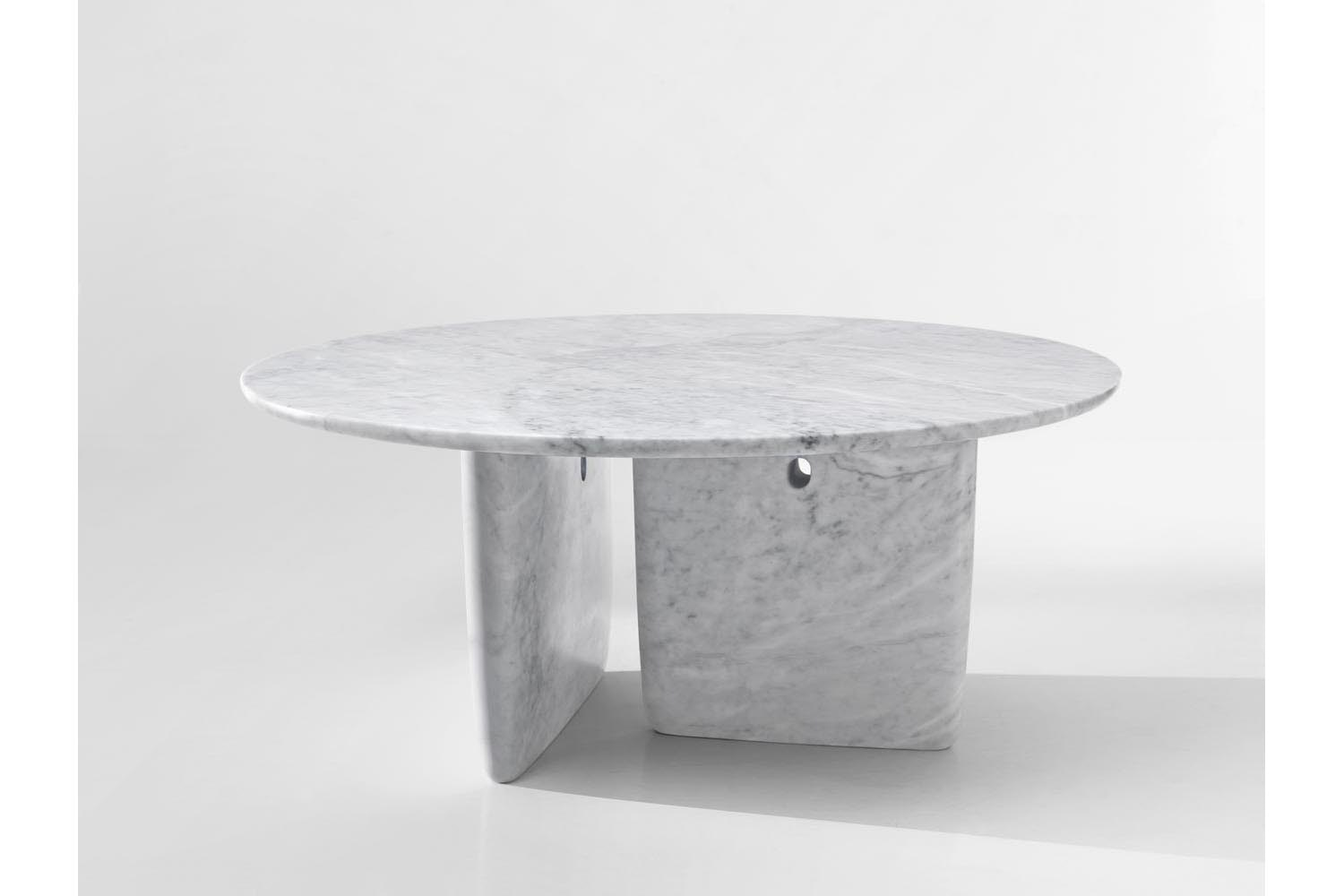Tobi-Ishi Marble Table by Edward Barber & Jay Osgerby