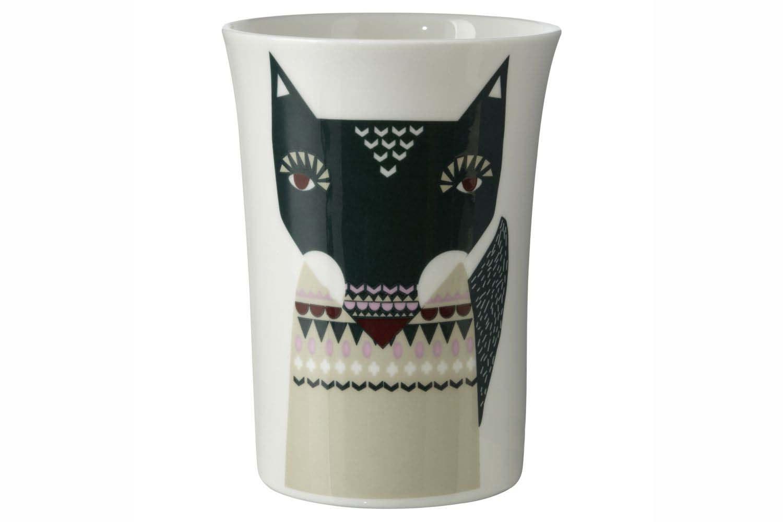 Wolfie Beaker by Donna Wilson