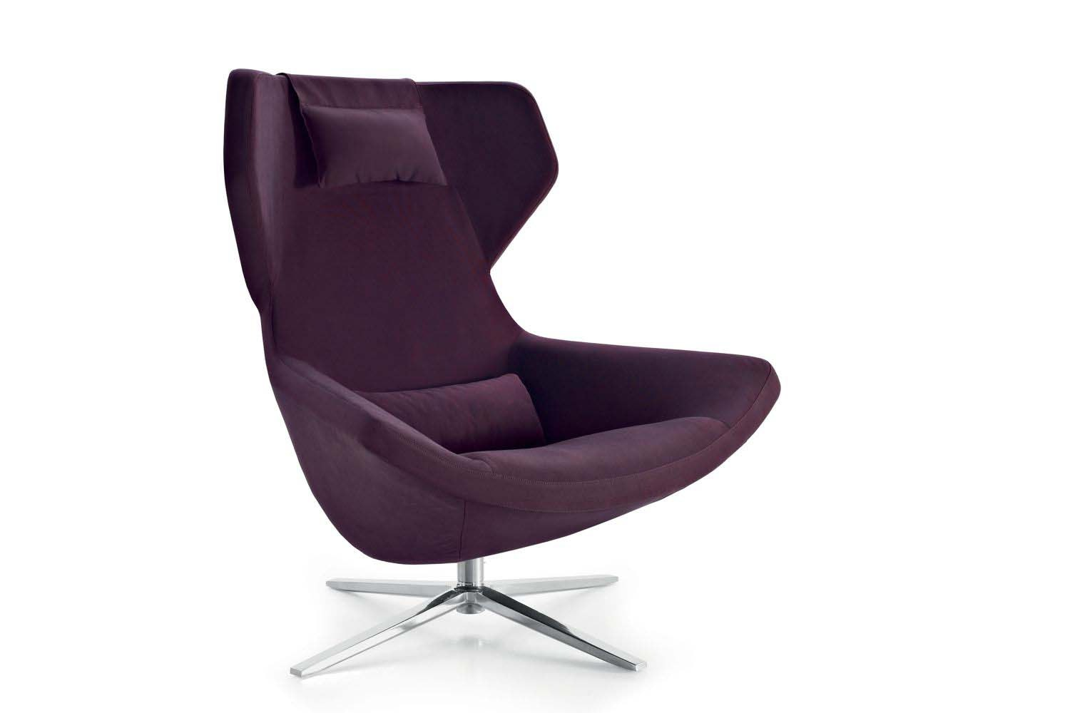 Metropolitan '14 Swivel Armchair by Jeffrey Bernett for B&B Italia