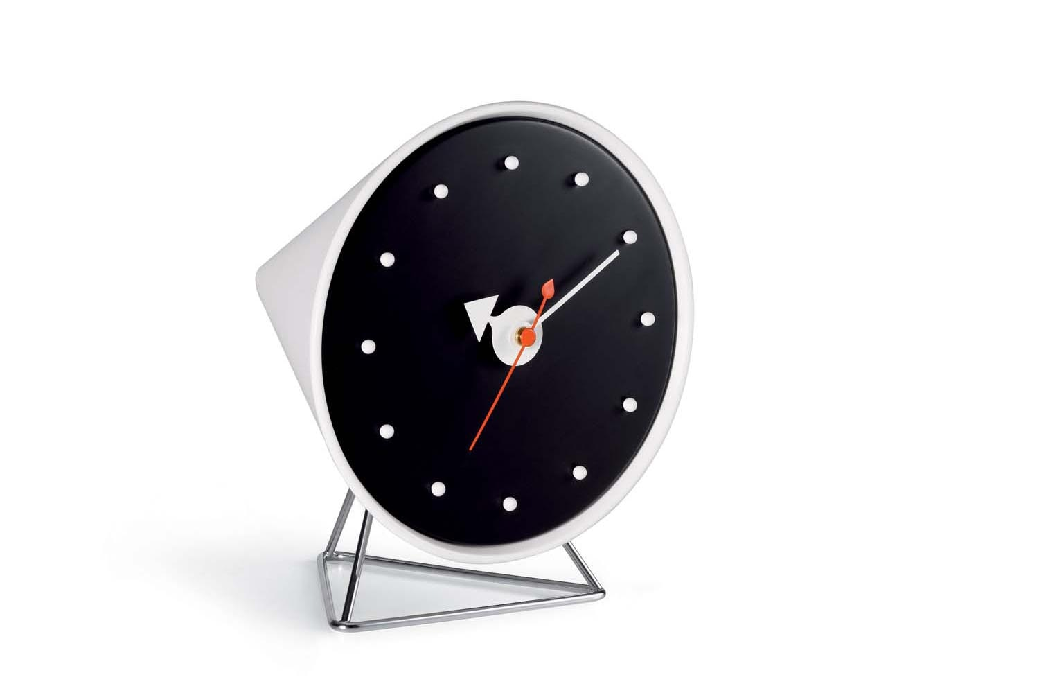 Cone Clock by George Nelson for Vitra