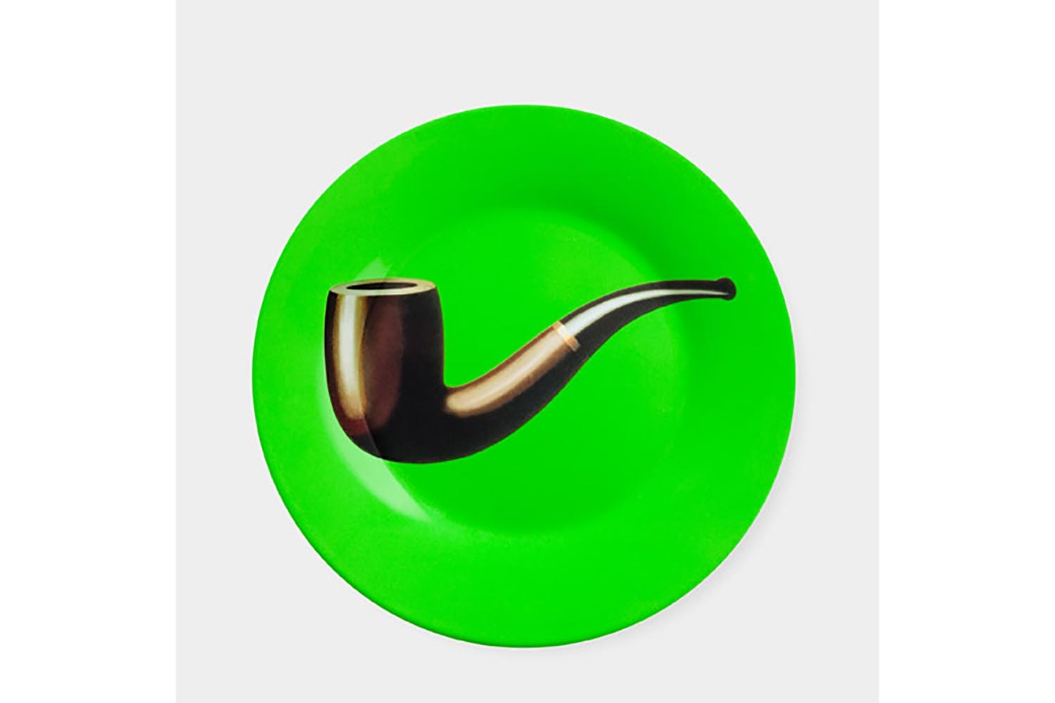 Magritte: Pipe Plate by Rene Magritte for MoMA