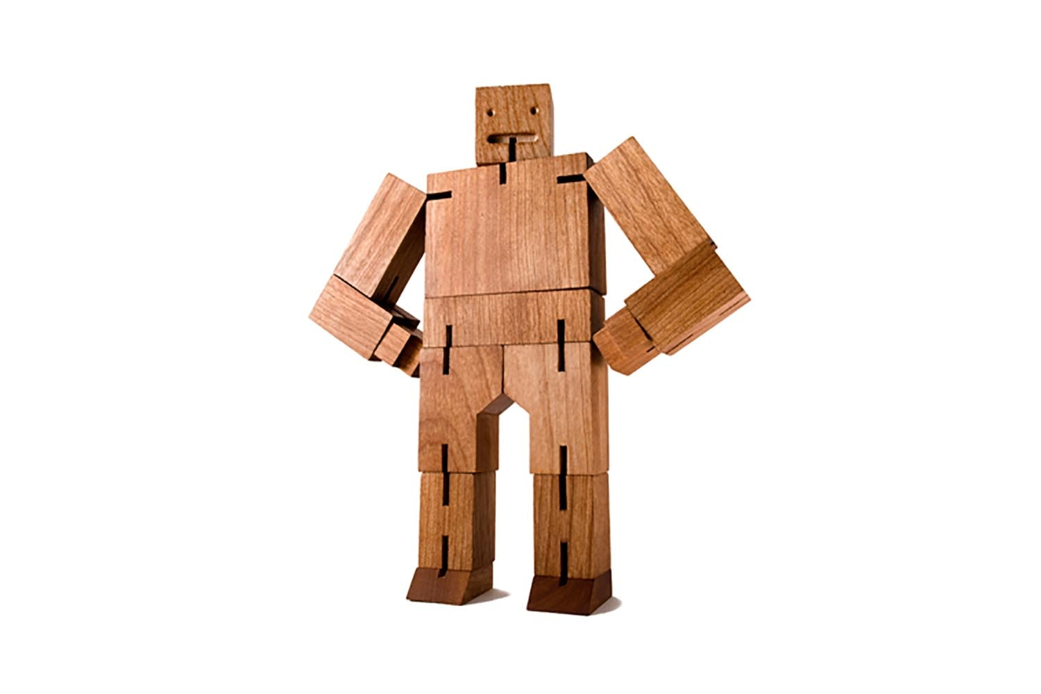 Cubebot Small - Natural by David Weeks for Areaware