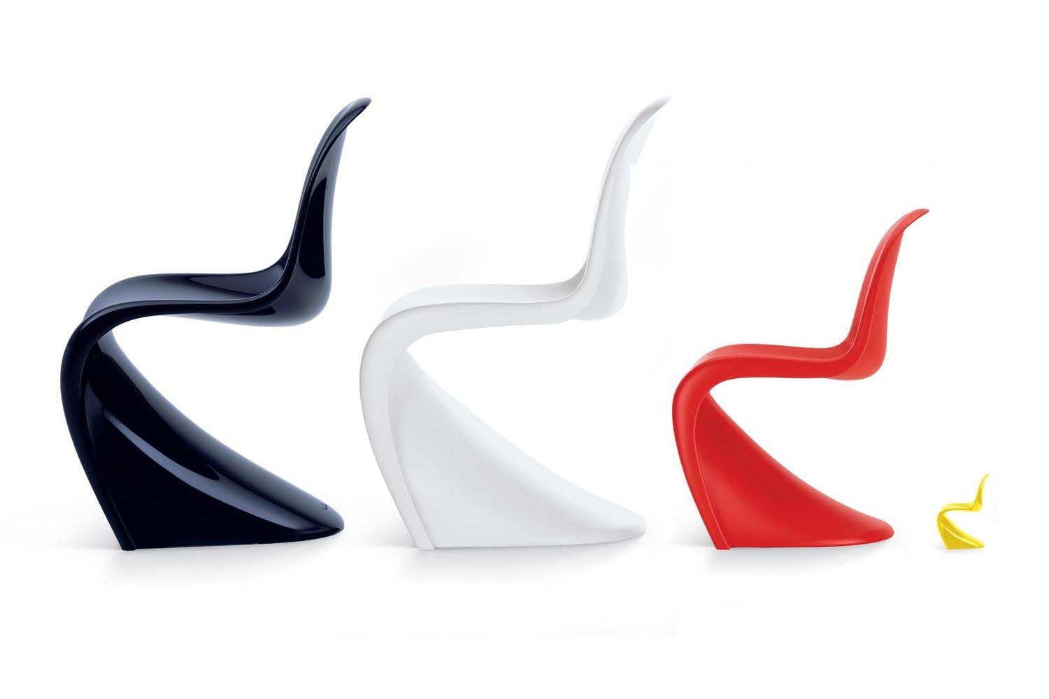 panton chair by verner panton for vitra space furniture