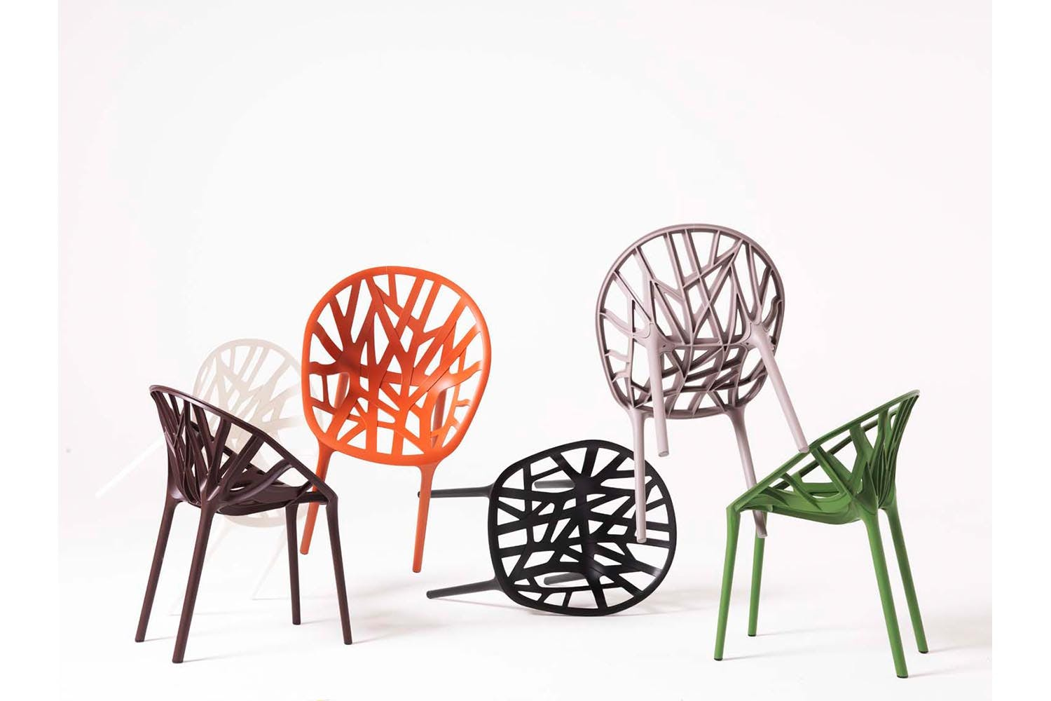 vegetal chair by ronan erwan bouroullec for vitra space furniture. Black Bedroom Furniture Sets. Home Design Ideas