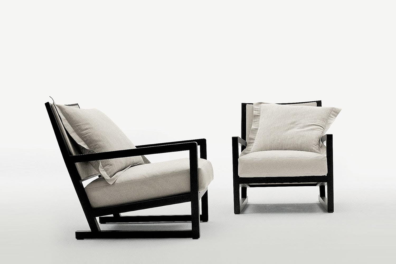 clio armchair by antonio citterio for maxalto space furniture. Black Bedroom Furniture Sets. Home Design Ideas