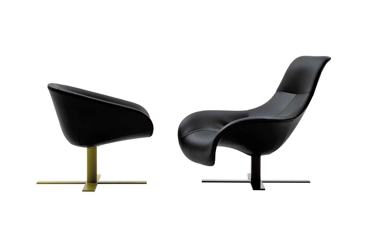 mart armchair by antonio citterio for b b italia space. Black Bedroom Furniture Sets. Home Design Ideas