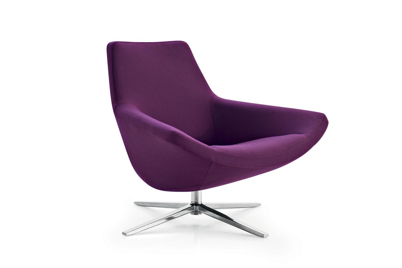 Project Metropolitan '14 Swivel Armchair by Jeffrey Bernett for B&B Italia Project