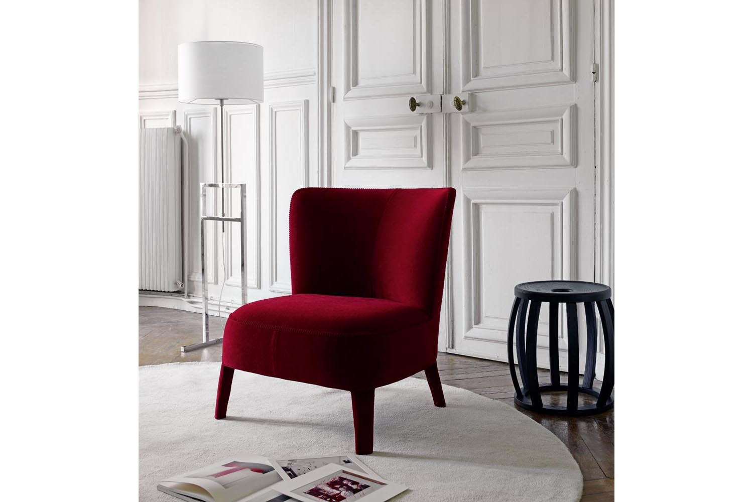 Febo Armchair With High Back By Antonio Citterio For