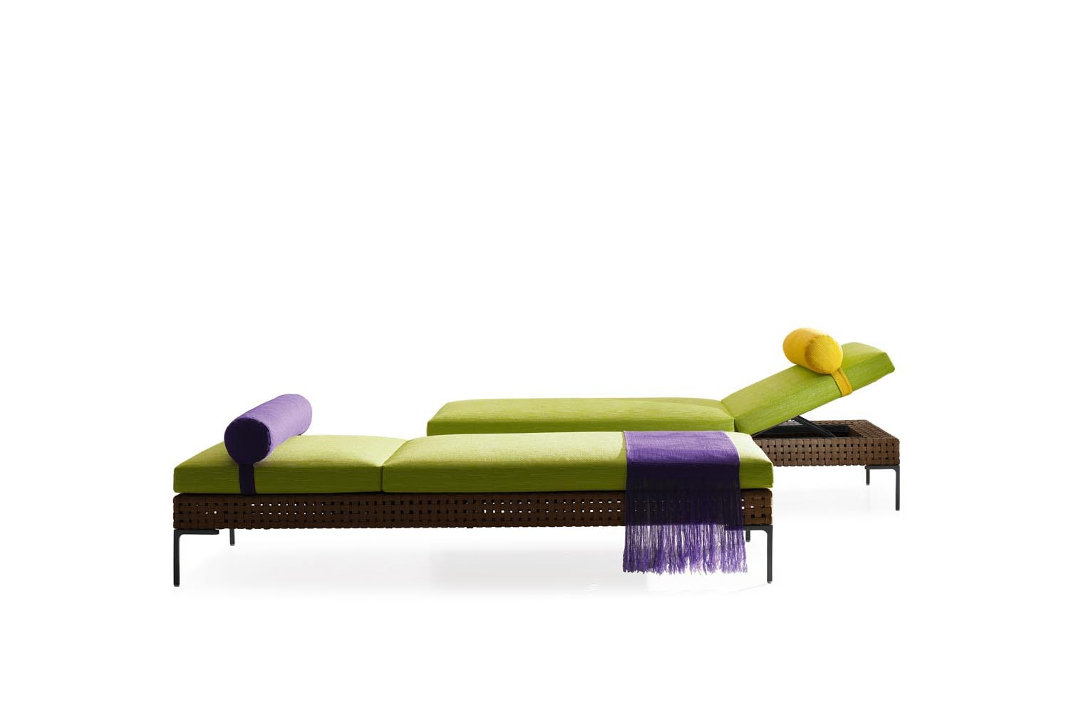 Charles Outdoor Chaise Longue by Antonio Citterio for B&B Italia