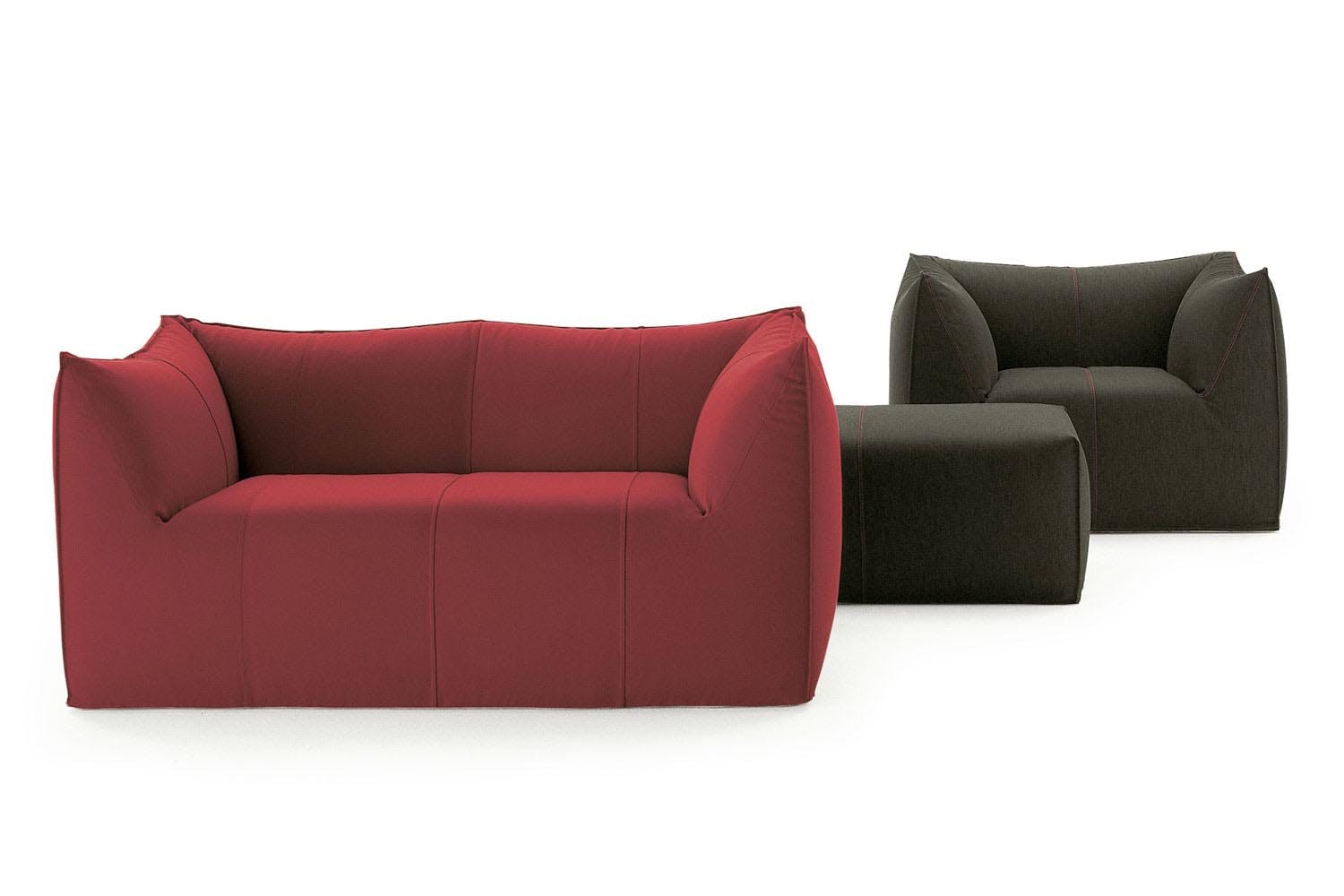 le bambole 39 07 sofa by mario bellini for b b italia. Black Bedroom Furniture Sets. Home Design Ideas