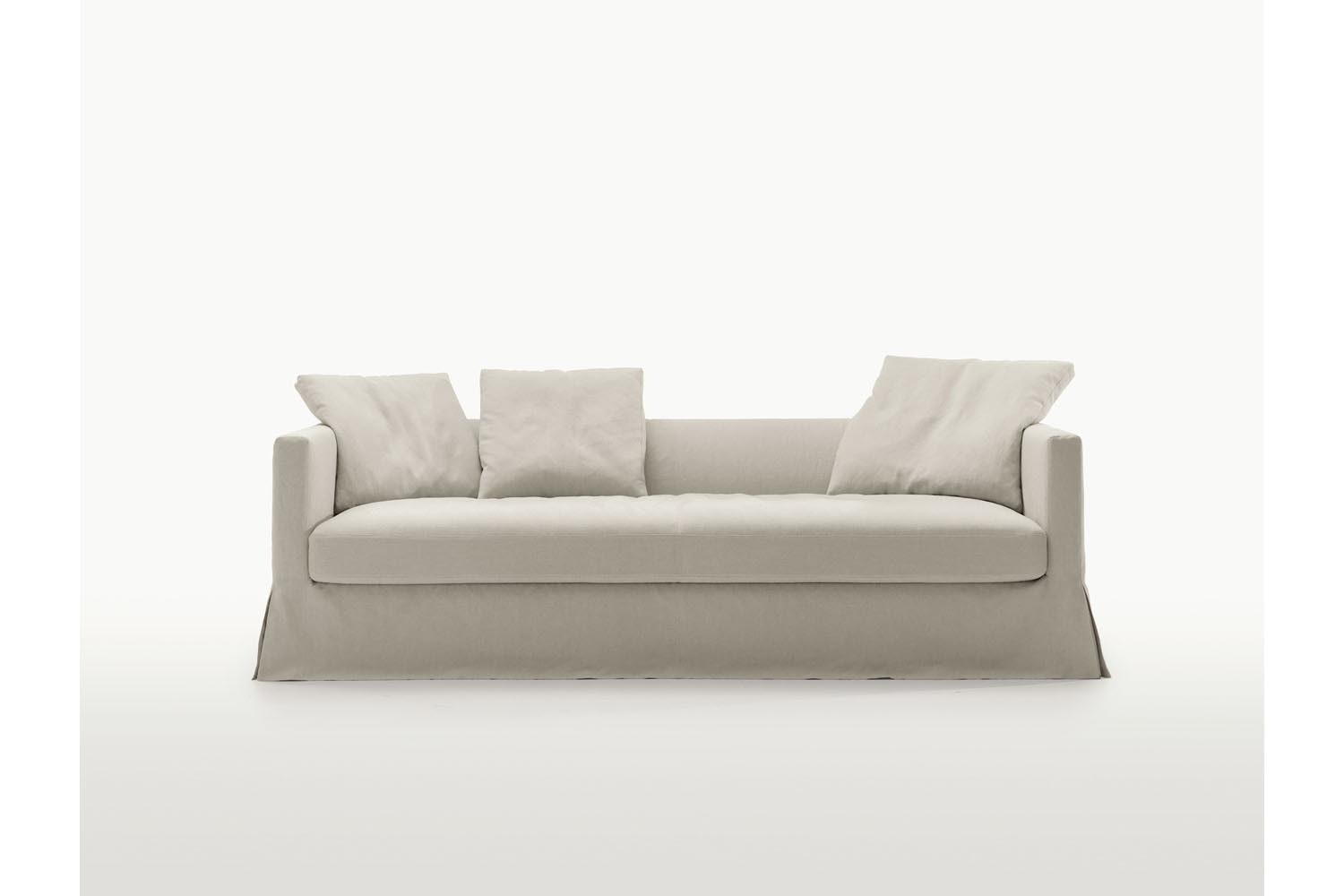 Simpliciter Sofa with Slip Cover by Antonio Citterio for Maxalto